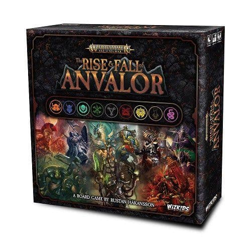 Warhammer Age of Sigmar Board Game The Rise & Fall of Anvalor